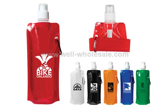 2013 Promotion gift Foldable water bottle