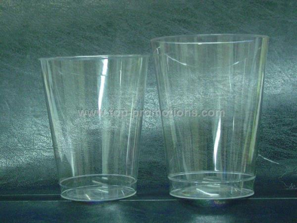 Clear Plastic Shot Glass