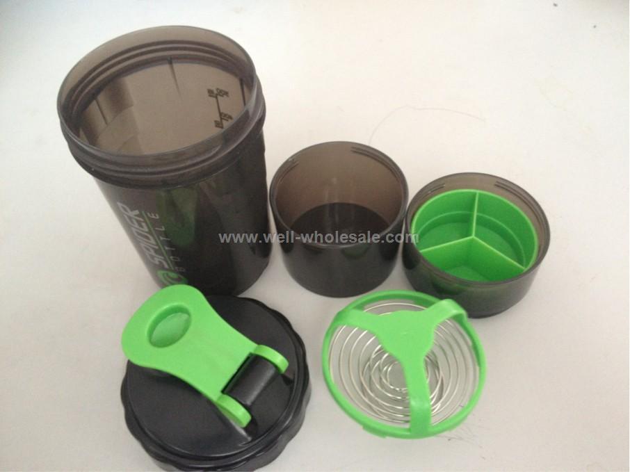 Sport water BPA free plastic Shaker Bottle