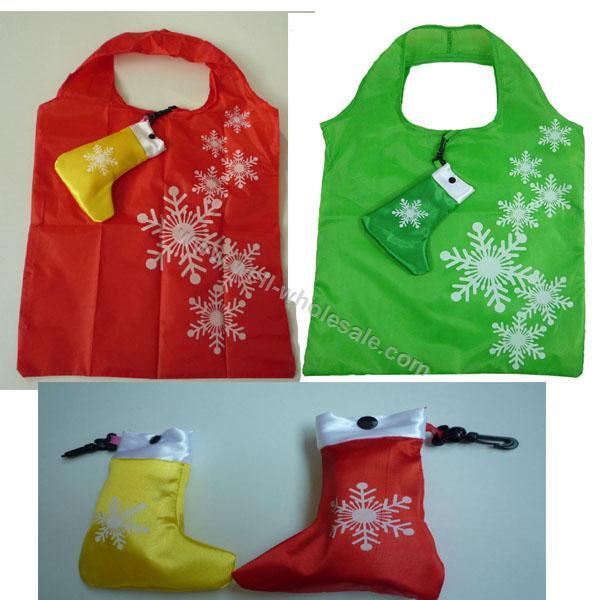 Christmas socks folding bags