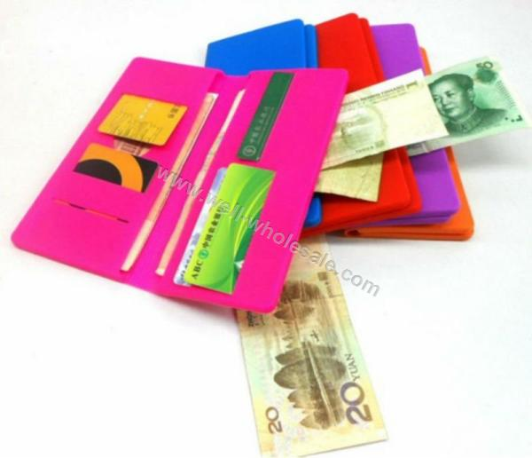 fashionable silicone wallet