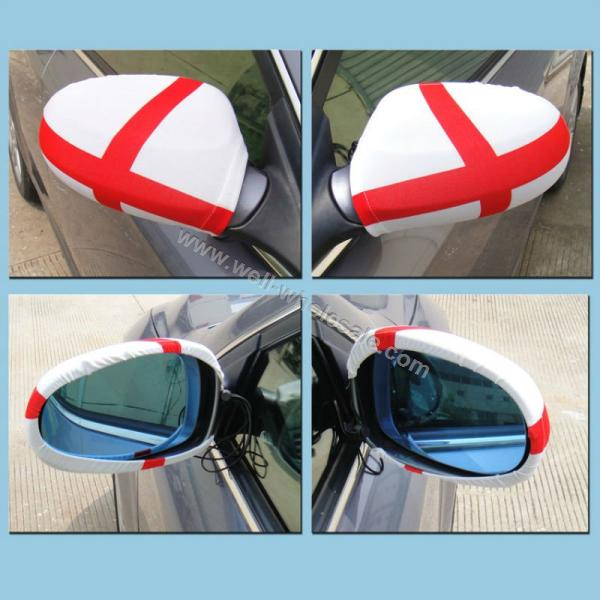 Car mirror flag car mirror cover