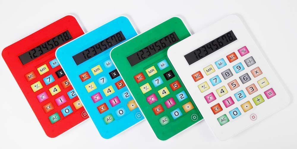 Ipad screen calculators