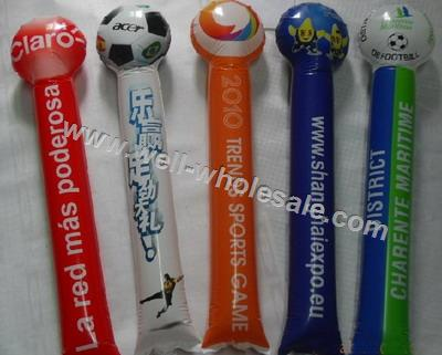 2014 brazil inflatable balloon cheering stick