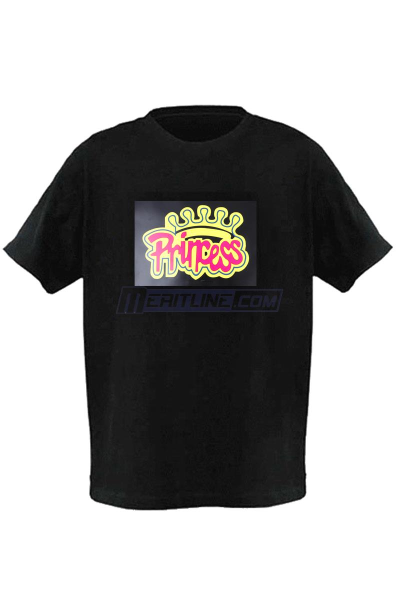 LED Lighting T-Shirt  Princess