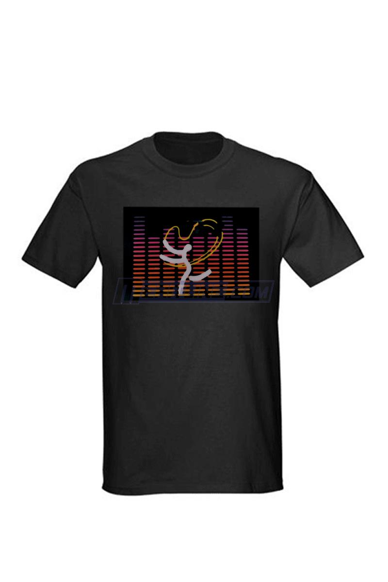 LED Lighting T-Shirt Note