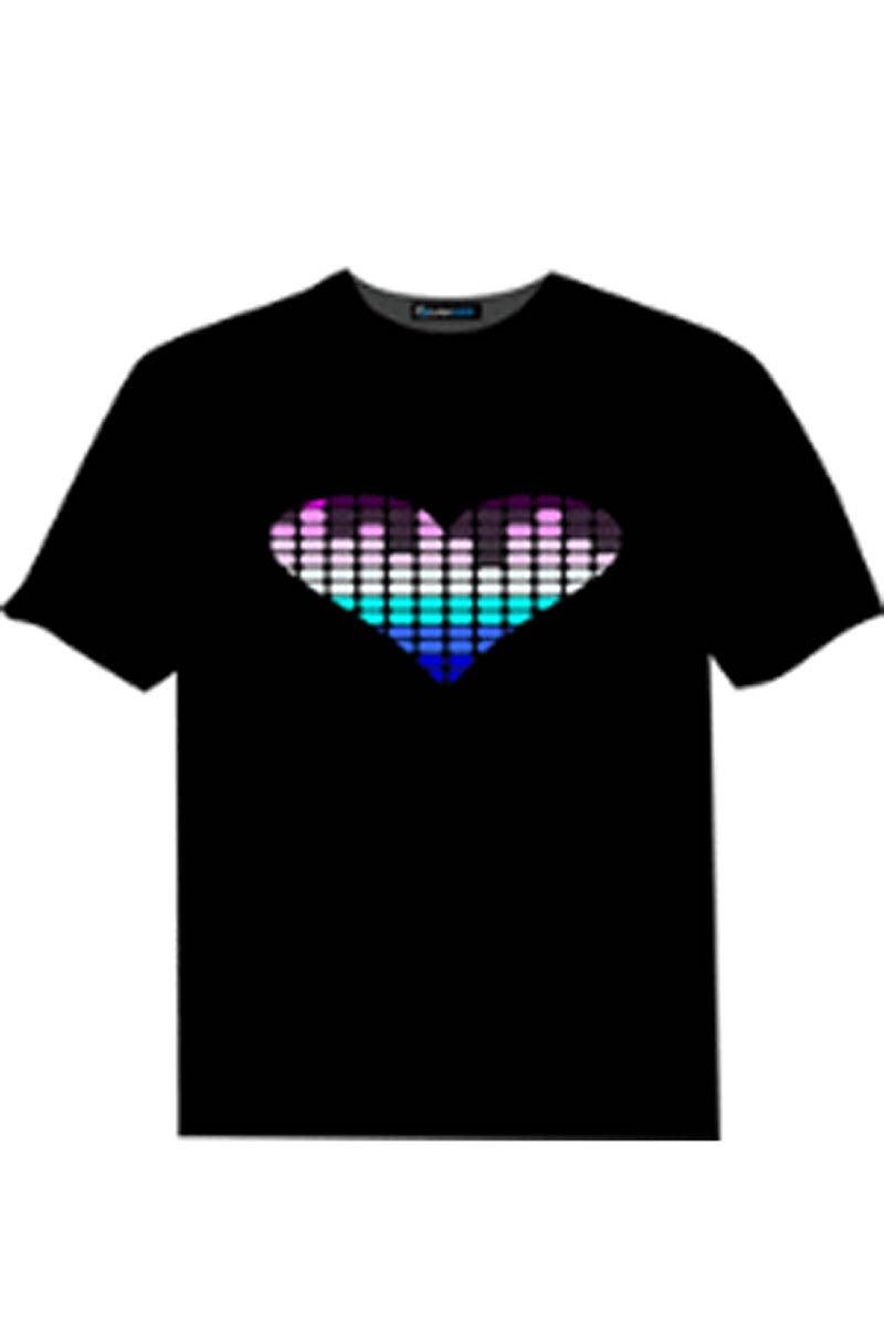 LED T-Shirt Heart
