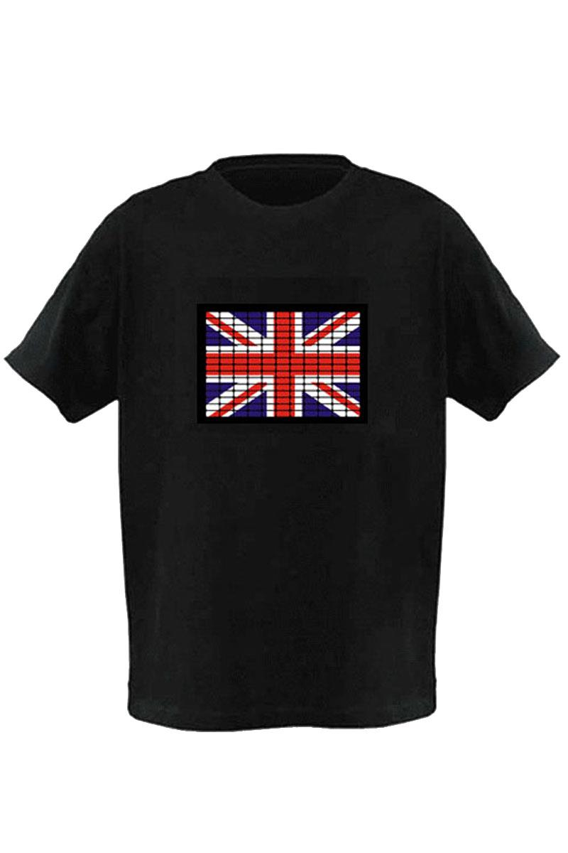 LED T-Shirt Flag