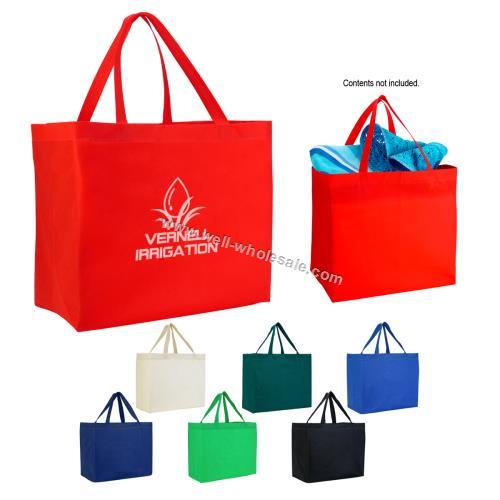custom woven bags