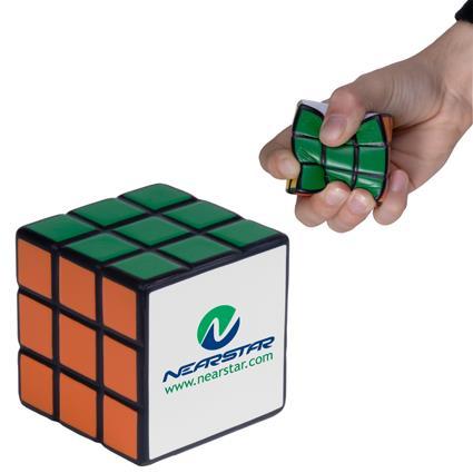 Rubik's cube stress ball