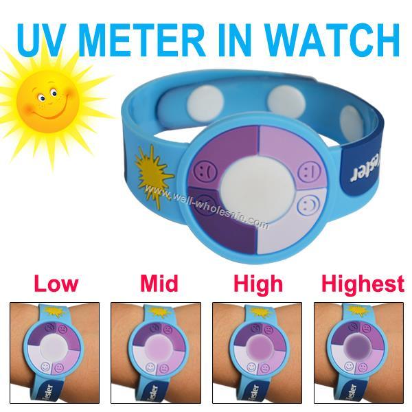 PVC UV Bracelet