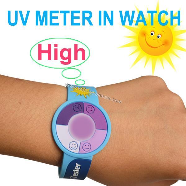 UV custom adjustable soft PVC rubber bracelet