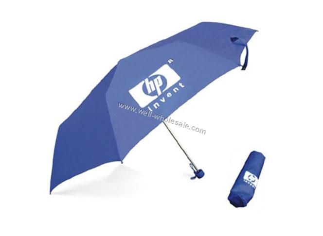 Promotional umbrella,3 folding umbrella,rain umbrella