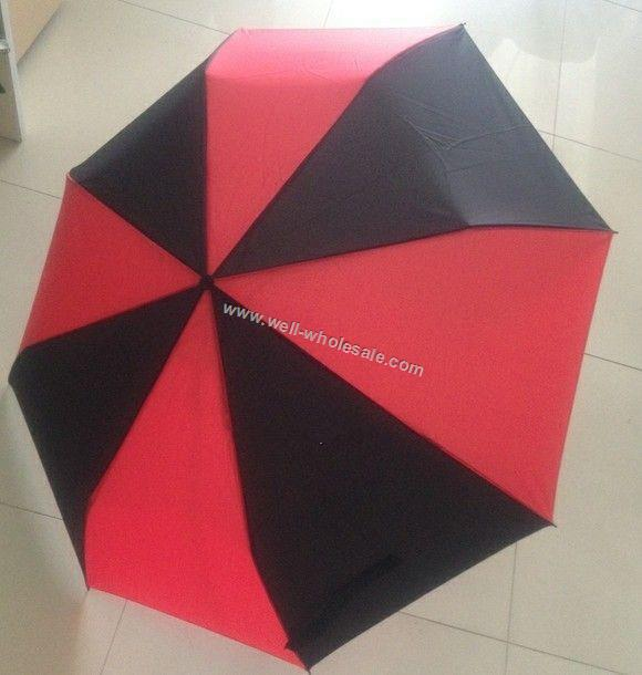 custom umbrella,3-folding umbrella