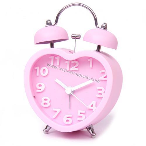 oem plastic twin bell clock