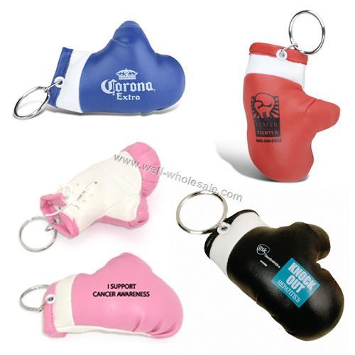 mini boxing glove keychain