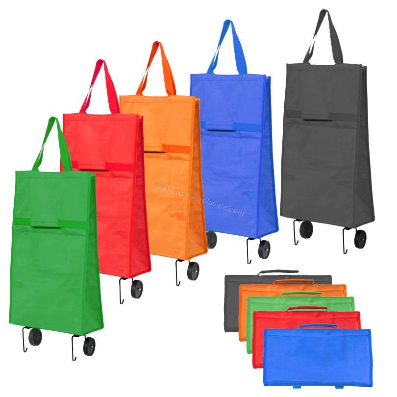 Folding shopping trolley bag/shopping trolley