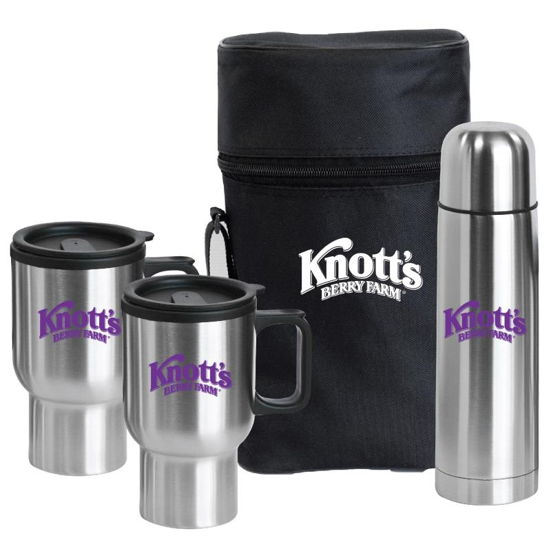 Stainless steel vacuum cup gift set