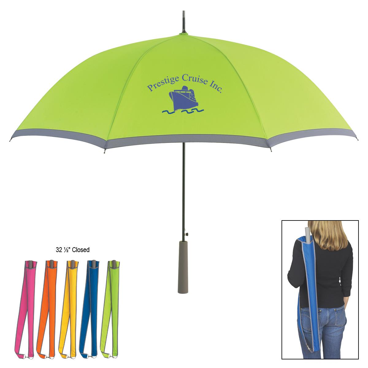 golf umbrella,metal umbrella golf,umbrella golf with pouch
