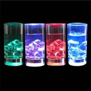 Flashing Liquid Activated Shot Glass Cup,LED Flashing Mug,LED Flashing Cup