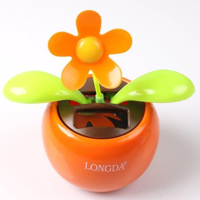 solar dancing flower,flip flap solar flower