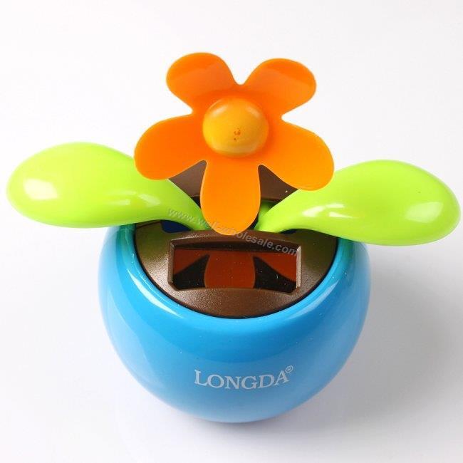 solar toy solar dancing flower