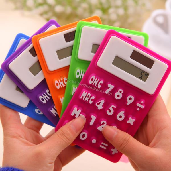 Silicone calculator|Colorful Silicone Calculator