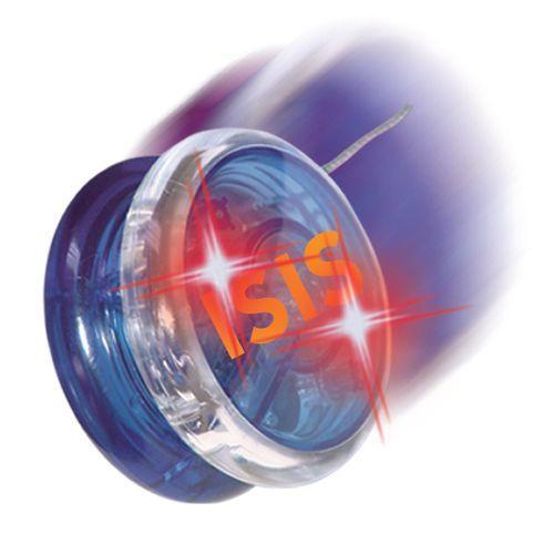 Flashing plastic led yoyo