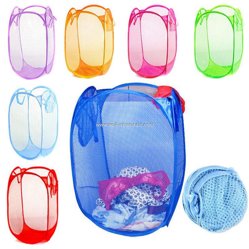 Cheap Folding Polyester Laundry Basket