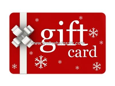 gift card/plastic card