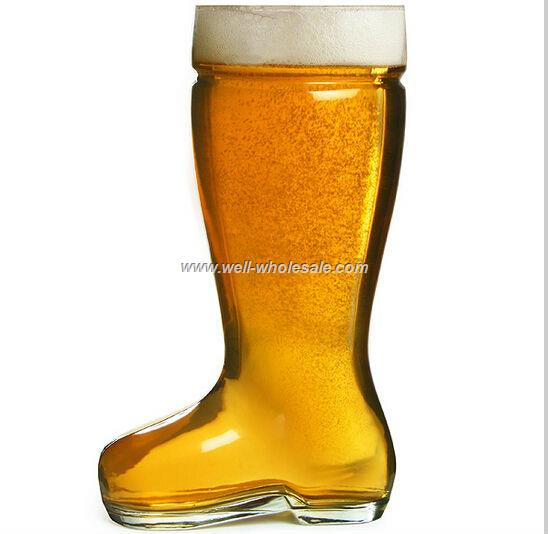 glass beer boots wholesale