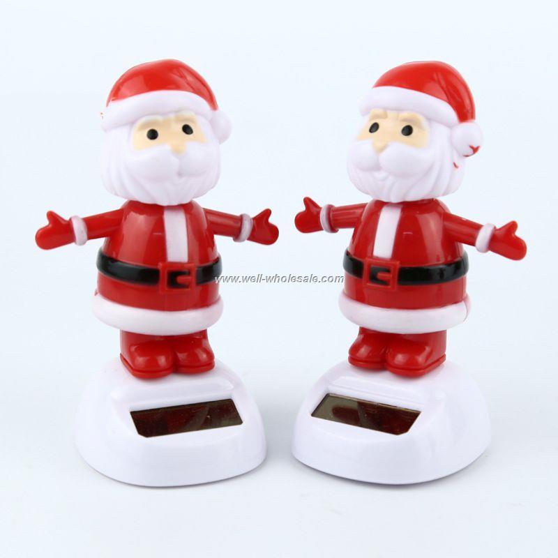 Christmas Santa solar dancing toys