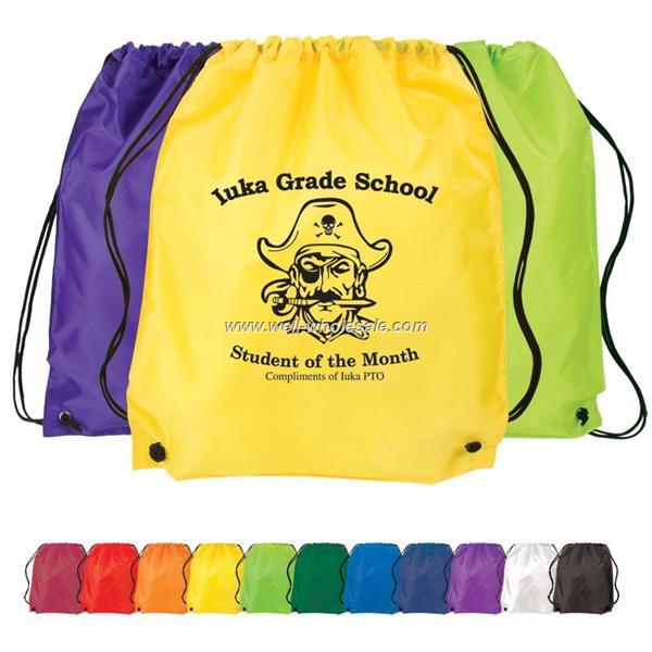custom polyester drawstring bag polyester bag