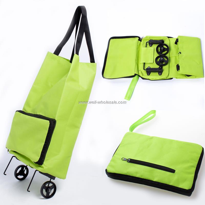 moving easy folding shopping trolley bag