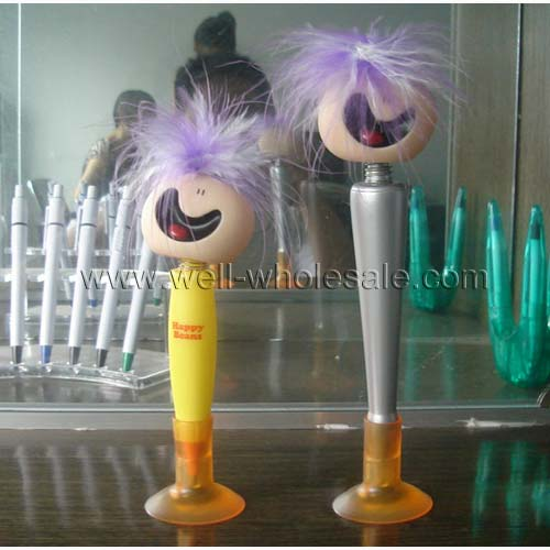 funny big head ball pen