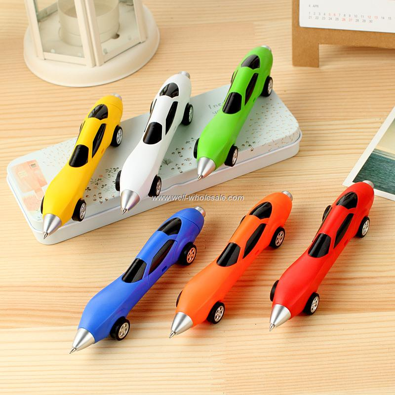 Plastic Car design Ball Pen/Novelty Car Shape Ball Pen