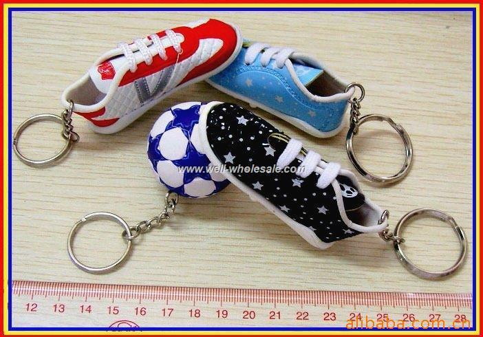 Soccer Shoe Keychain