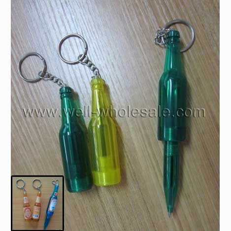 beer bottle ball pen,novel ball-point pen