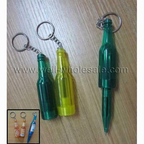 beer bottle ball pen,novel ball-point pen