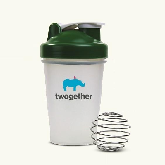Protein Shaker Net: Wholesale 20oz Plastic Bottle Blender Bottle Protein