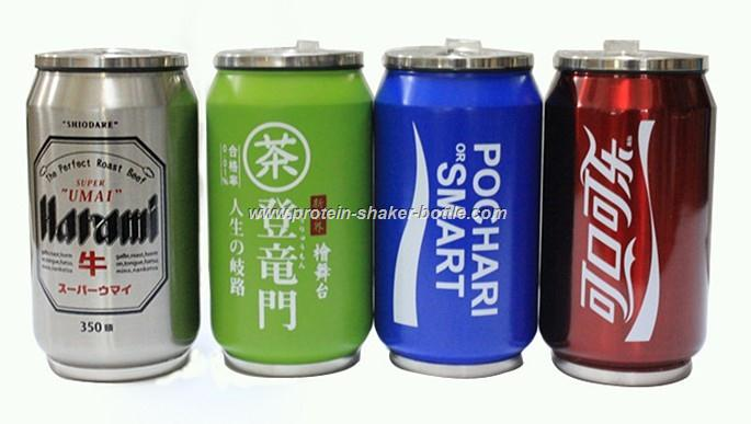 eco-friendly stainless steel double wall vacuum cola cans,stainless steel cola cup,Cola Vacuum Can Stainless Steel Vacuum Cup