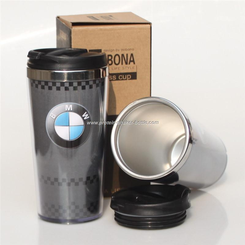 stainless steel auto mug/Advertising cup
