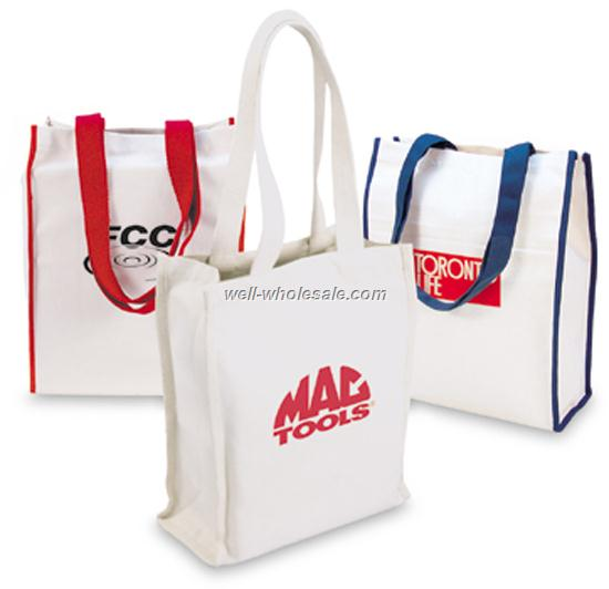 Recyclable Raw Cotton Canvas Shopping Bag