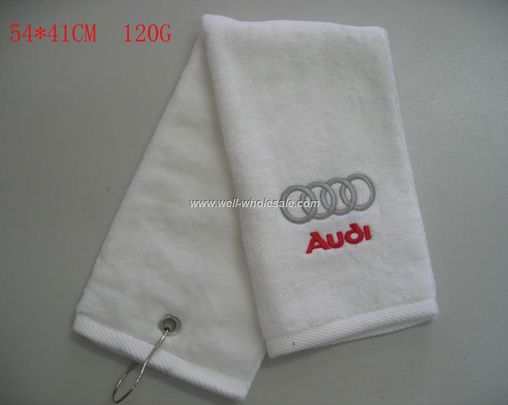 cotton golf towel velvet