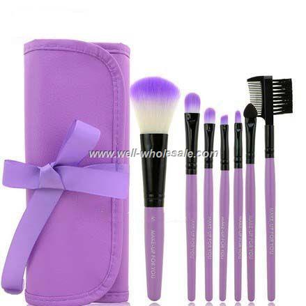 High quality make up brush, 7 pieces comestic brush