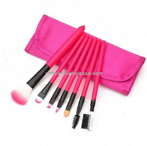 Hot selling make up brush,7 pieces comestic brush