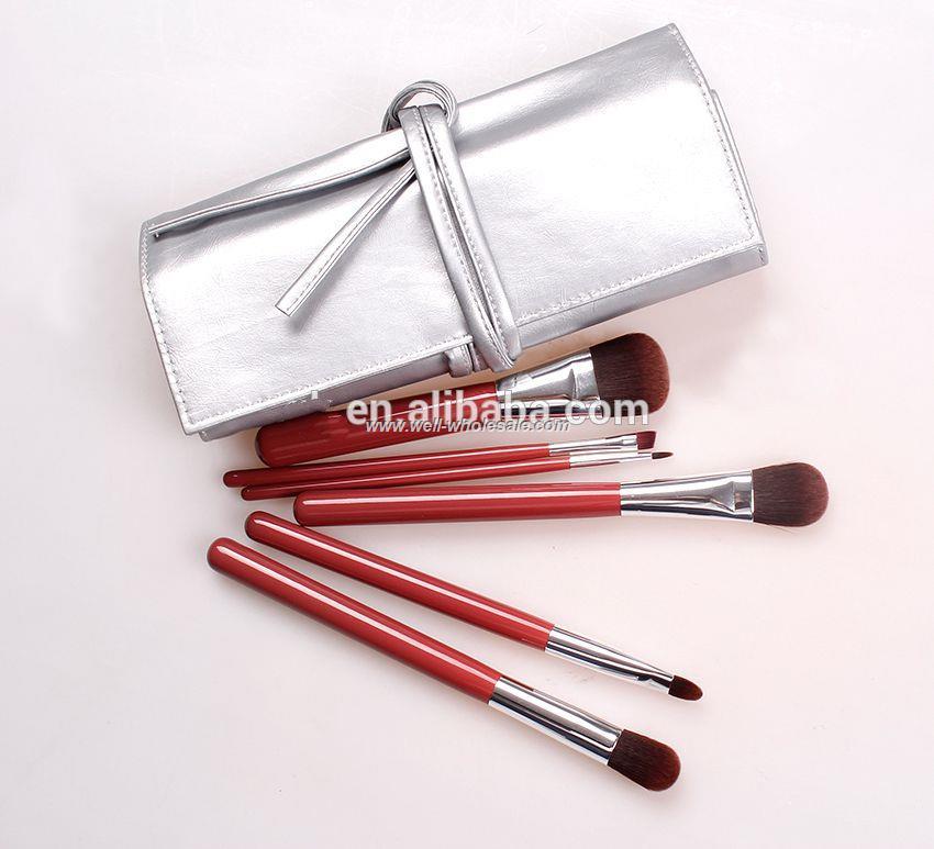 2015 hot sell economic girls makeup brush set