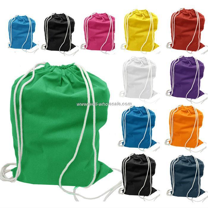 Customized nylon polyester Drawstring bag