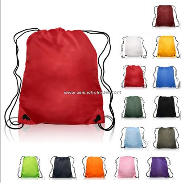 promotional drawstring bag/drawstring backpack
