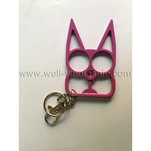 Self Defense Kitty Cat Keychain